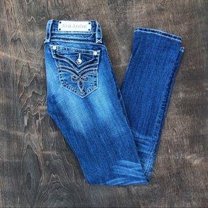 Rock Revival Jasmine Straight Jeans 25 hemmed